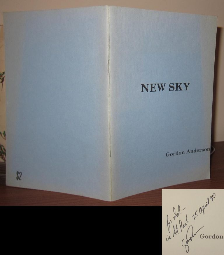 NEW SKY Signed 1st. Gordon Anderson.
