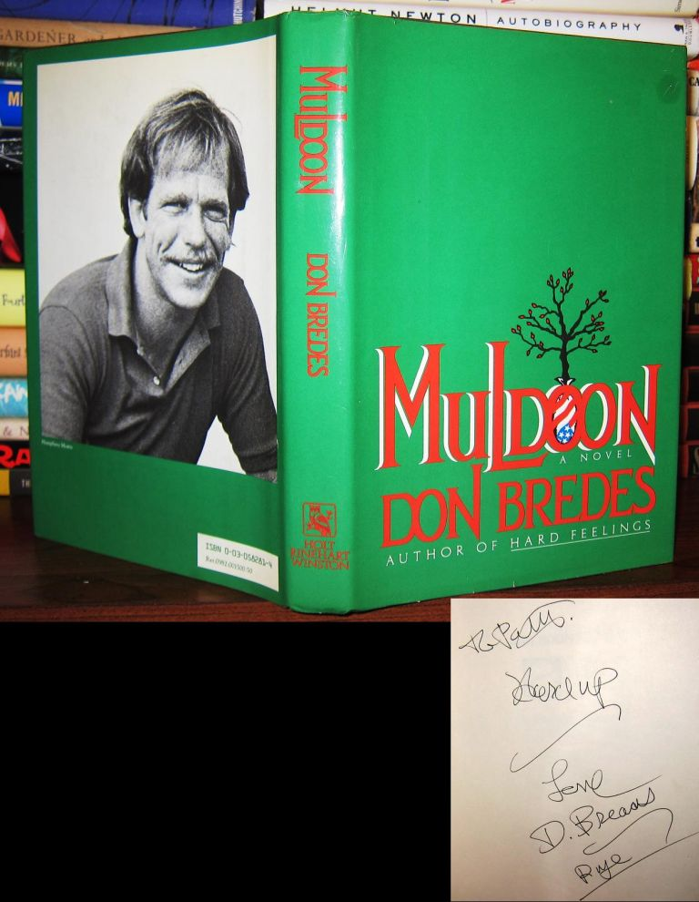 MULDOON Signed 1st. Don Bredes.