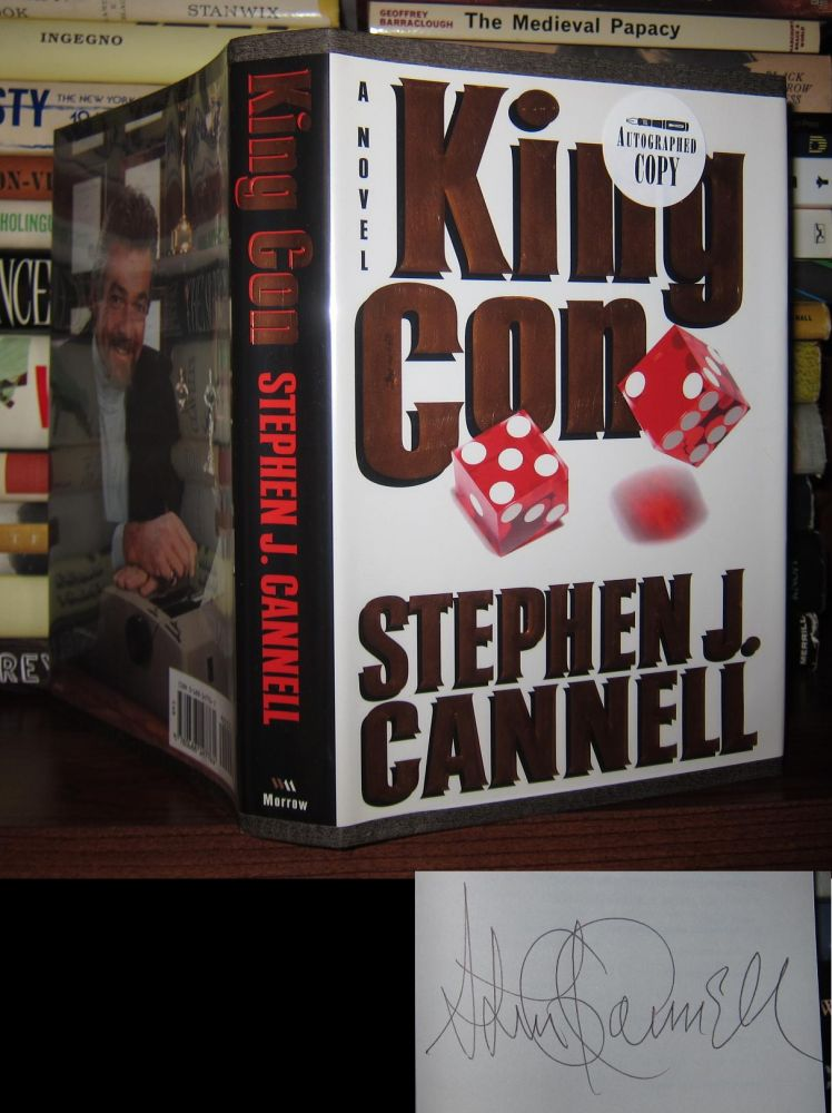 KING CON Signed 1st. Stephen J. Cannell.