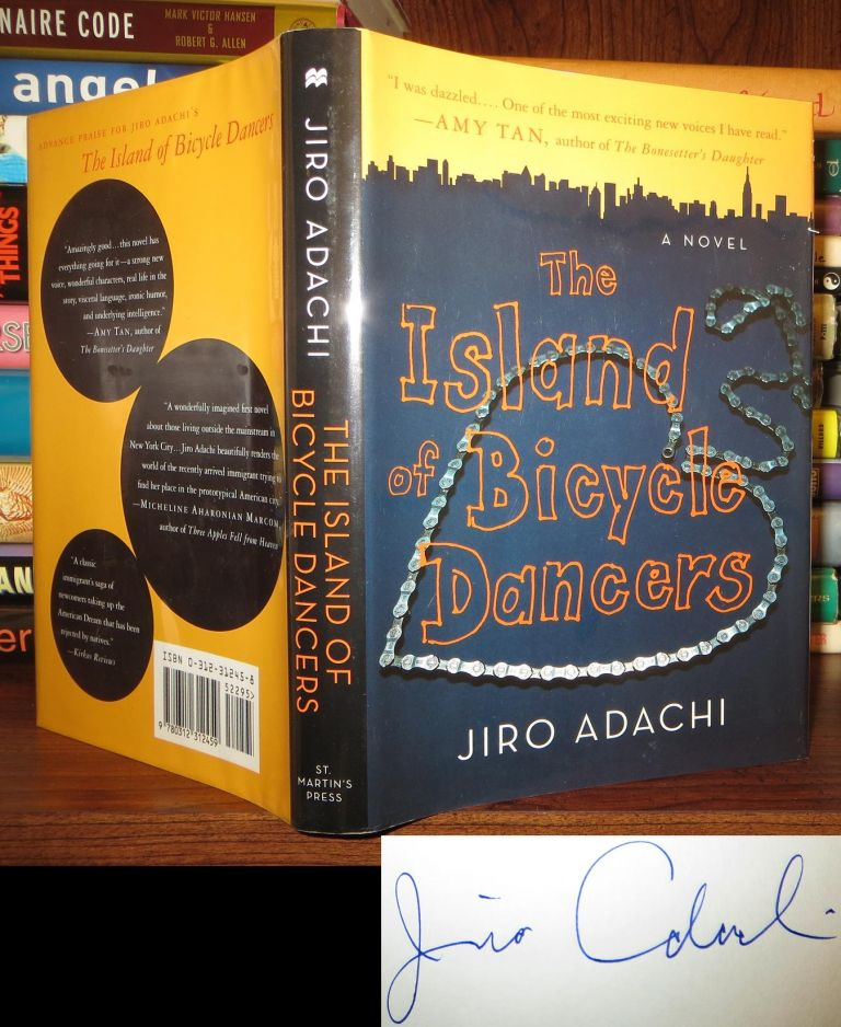 THE ISLAND OF BICYCLE DANCERS Signed 1st. Jiro Adachi.