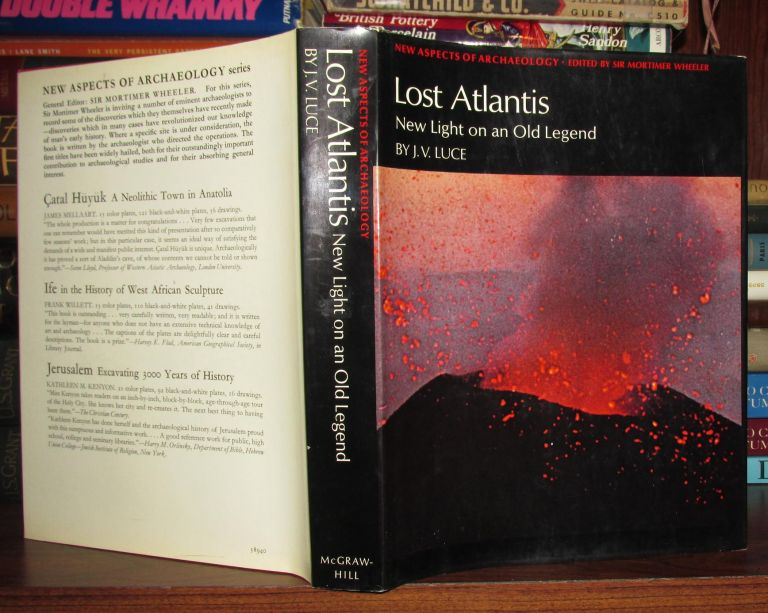 LOST ATLANTIS : New Light on a Old Legend by J  V  Luce on Rare Book Cellar