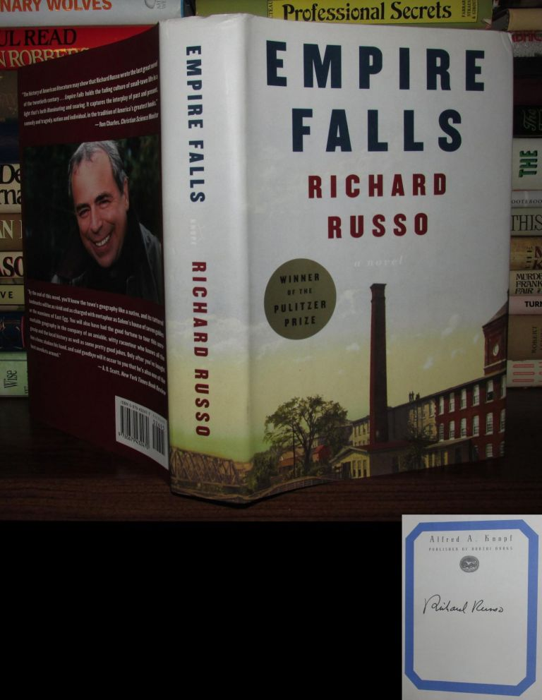 EMPIRE FALLS Signed 1st. Richard Russo.