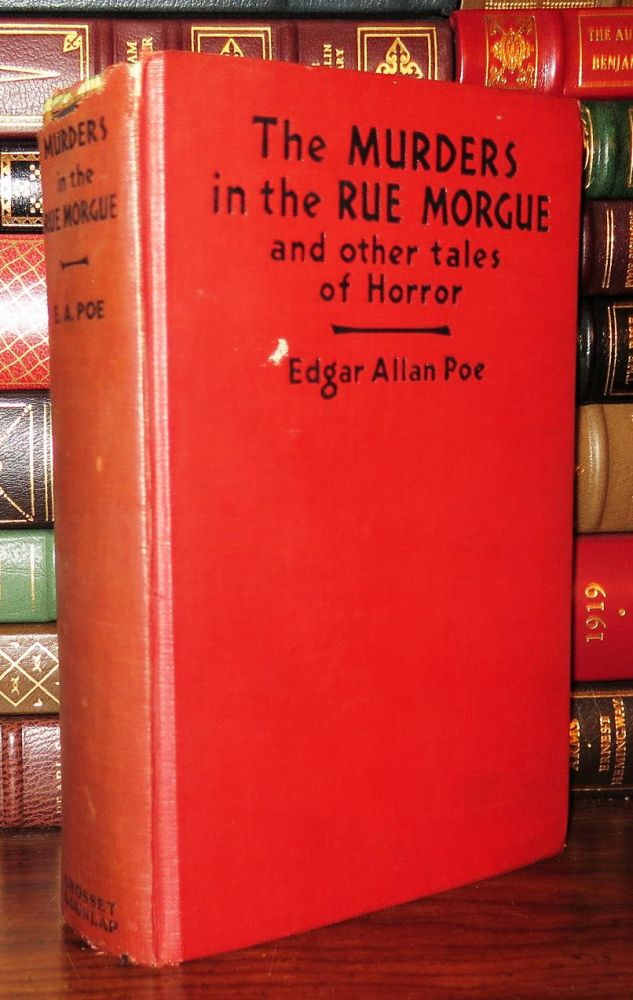 THE MURDERS IN THE RUE MORGUE. Edgar Allan Poe.