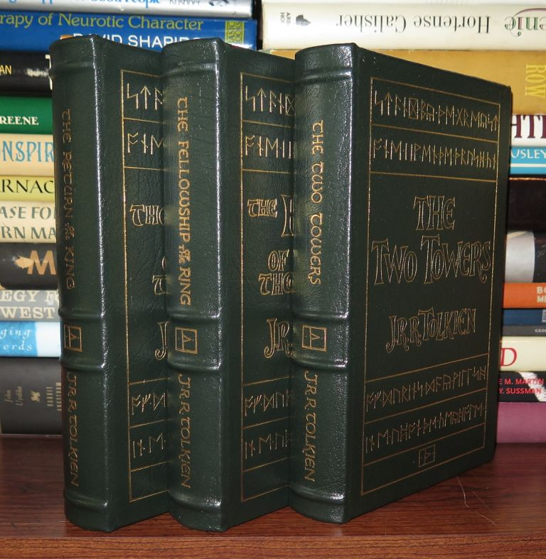 THE FELLOWSHIP OF THE RING, THE TWO TOWERS, THE RETURN OF THE KING Easton Press. J. R. R. Tolkien.
