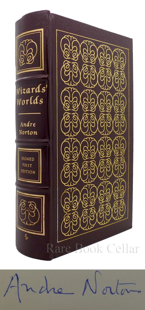 WIZARDS' WORLDS Signed Easton Press. Andre Norton.