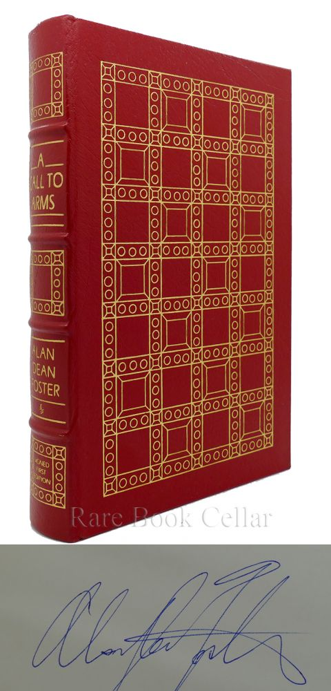 A CALL TO ARMS Signed Easton Press. Alan Dean Foster.