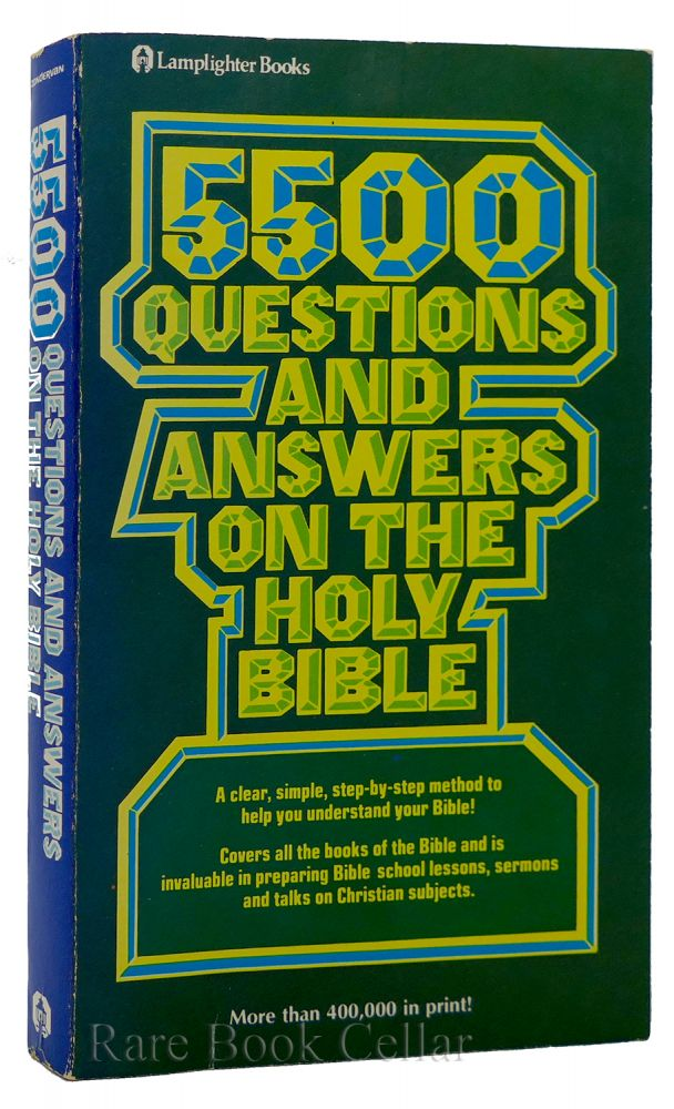5500 QUESTIONS AND ANSWERS ON THE HOLY BIBLE