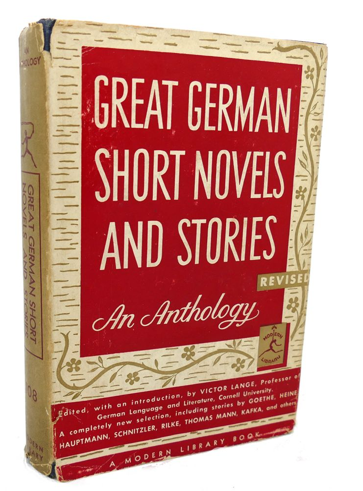GREAT GERMAN SHORT NOVELS AND STORIES : An Anthology