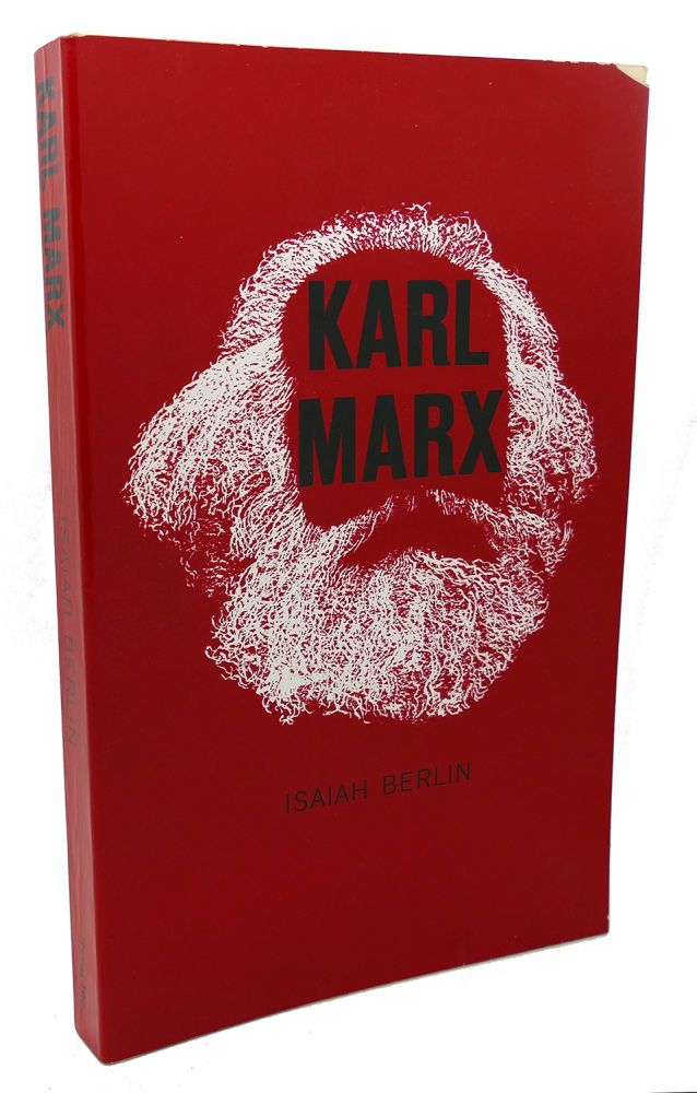 KARL MARX His Life and Environment. With a New Introduction by Robert Heilbroner. Isaiah Berlin Karl Marx.