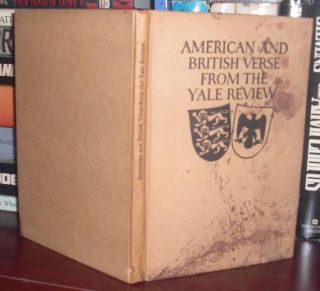 AMERICAN AND BRITISH VERSE FROM THE YALE REVIEW. John Gould - Frost Fletcher, Robert