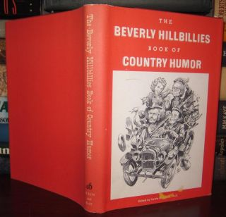 THE BEVERLY HILLBILLIES BOOK OF COUNTRY HUMOR Signed 1st. Lewis R. Benton