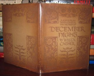 DECEMBER NIGHT : A Scene from Death Comes for the Archbishop. Willa Cather
