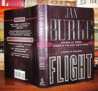 FLIGHT Signed 1st. Jan Burke