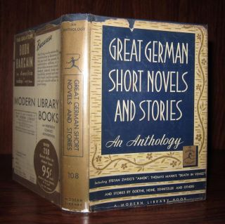 GREAT GERMAN SHORT NOVELS AND STORIES. Bennett A. - Goethe Cerf, Zweig, Mann, Schnitzler, Heine,...