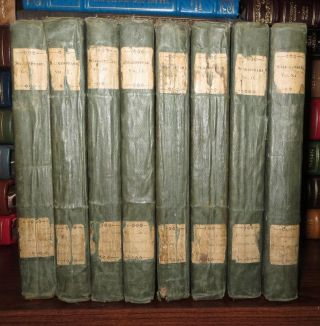 THE DRAMATIC WORKS OF SHAKESPEARE Vols. I-V, VIII, IX, XI [ 8 Volume Set ]. William Shakespeare,...