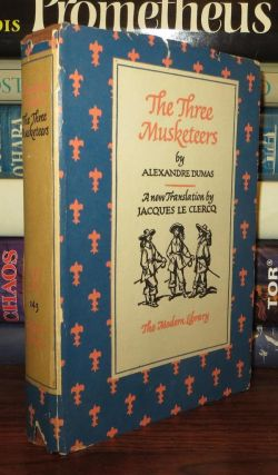 THE THREE MUSKETEERS. Alexandre Dumas