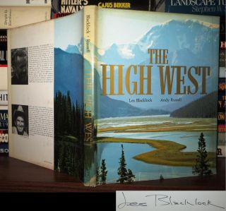 THE HIGH WEST Signed 1st. Les Blacklock, Andy Russell