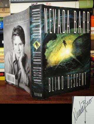 BLIND DESCENT Signed 1st. Nevada Barr