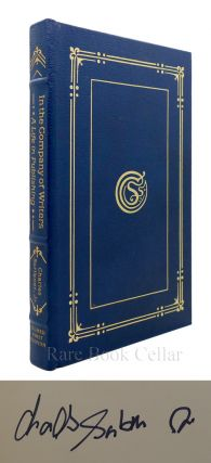 IN COMPANY OF WRITERS : Signed Easton Press. Charles Scribner Jr