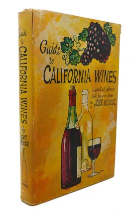 GUIDE TO CALIFORNIA WINES. John Melville