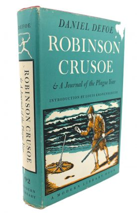 ROBINSON CRUSOE AND : A Journal of the Plague Year. Daniel Defoe