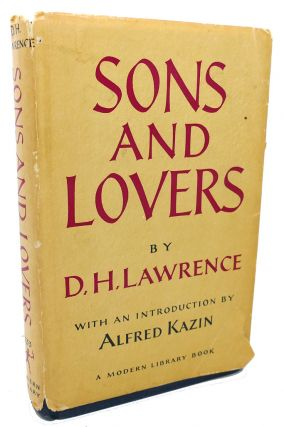SONS AND LOVERS. D. H. Lawrence