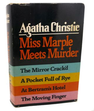 MISS MARPLE MEETS MURDER : The Mirror Crack'd, a Pocket Full of Rye, At Bertram's Hotel, the...