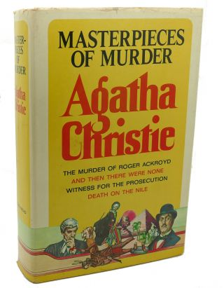 MASTERPIECES OF MURDER :. Agatha Christie