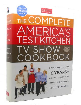 THE COMPLETE AMERICA'S TEST KITCHEN TV SHOW COOKBOOK. at America's Test Kitchen
