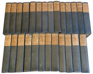 THE WORKS OF R. L. STEVENSON; THE VAILIMA EDITION [26 VOLUMES]. Robert Louis R. L. Stevenson
