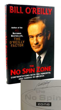 THE NO SPIN ZONE Signed 1st. Bill O'Reilly