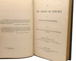 ON THE ORIGIN OF SPECIES 1st Issue