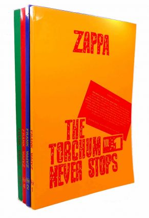 FRANK ZAPPA THE TORCHUM NEVER STOPS. VOL. 1 - VOL. 4