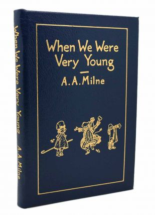 WHEN WE WERE VERY YOUNG Easton Press. A. A. Milne