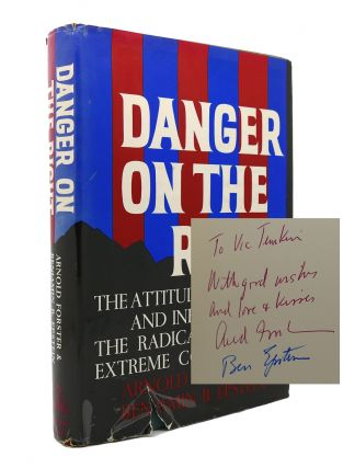 DANGER ON THE RIGHT Signed 1st