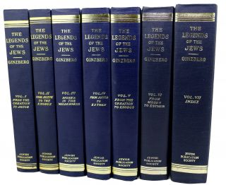 THE LEGENDS OF THE JEWS Complete Set Volumes 1-7