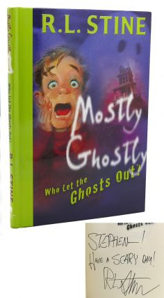 WHO LET THE GHOSTS OUT? Signed 1st