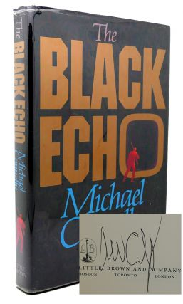 THE BLACK ECHO Signed 1st. Michael Connelly