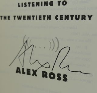 THE REST IS NOISE Signed 1st