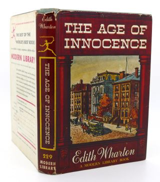 THE AGE OF INNOCENCE Modern Library # 229. Edith Wharton