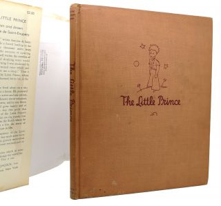 THE LITTLE PRINCE True 1st Issue 2.00 Price on Flap