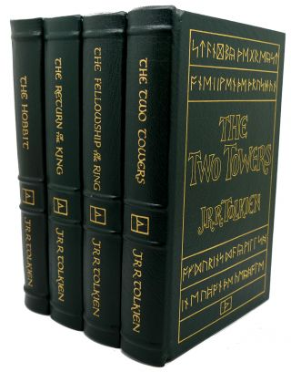 THE HOBBIT, THE FELLOWSHIP OF THE RING, THE TWO TOWERS, THE RETURN OF THE KING Easton Press