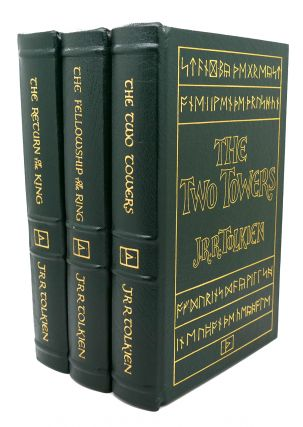 THE FELLOWSHIP OF THE RING, THE TWO TOWERS, THE RETURN OF THE KING Easton Press. J. R. R. Tolkien