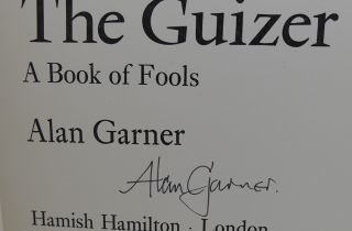 THE GUIZER SIGNED 1st a Book of Fools