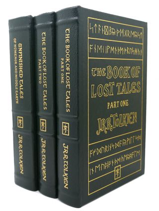 THE BOOK OF LOST TALES VOLUME 1 & 2 & THE UNFINISHED TALES OF NUMENOR AND MIDDLE-EARTH Easton...
