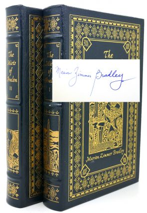 MISTS OF AVALON Signed Easton Press. Marion Zimmer Bradley