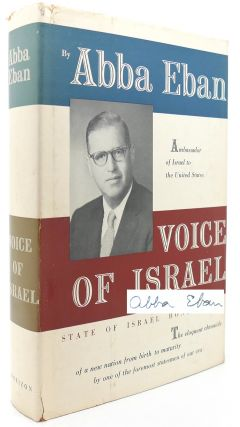 VOICE OF ISRAEL. Abba Eban