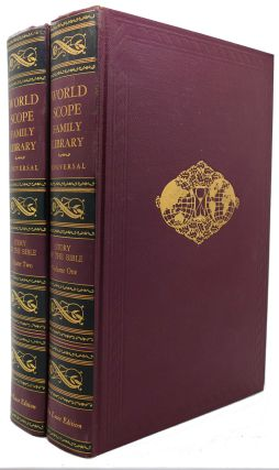 STORY OF THE BIBLE VOL. 1 & 2 World Scope Family Library. Rafaello Busoni Turner Hodges.