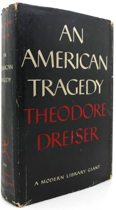 AN AMERICAN TRAGEDY Modern Library Giant #G80. Theodore Dreiser