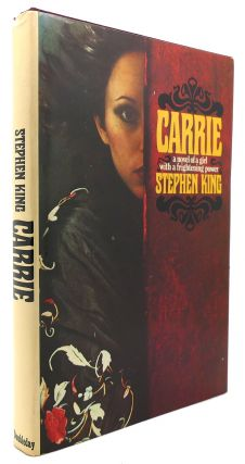 CARRIE Stated 1st Edition P6 Code. Stephen King